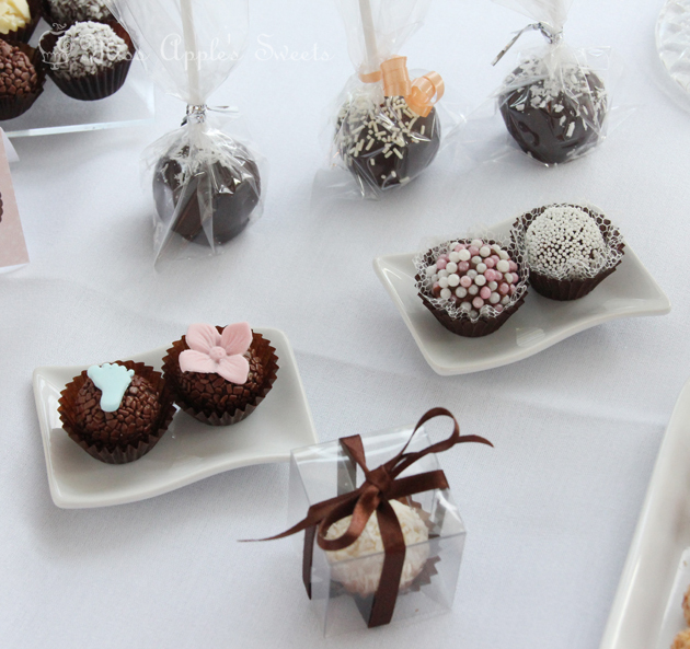 Miss Apple's Sweets; Brigadeiros by Miss Apple; Birmingham UK;