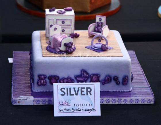 nursery cake Silver
